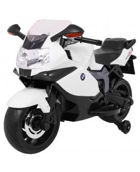 Elektrická motorka BMW K1300S biela
